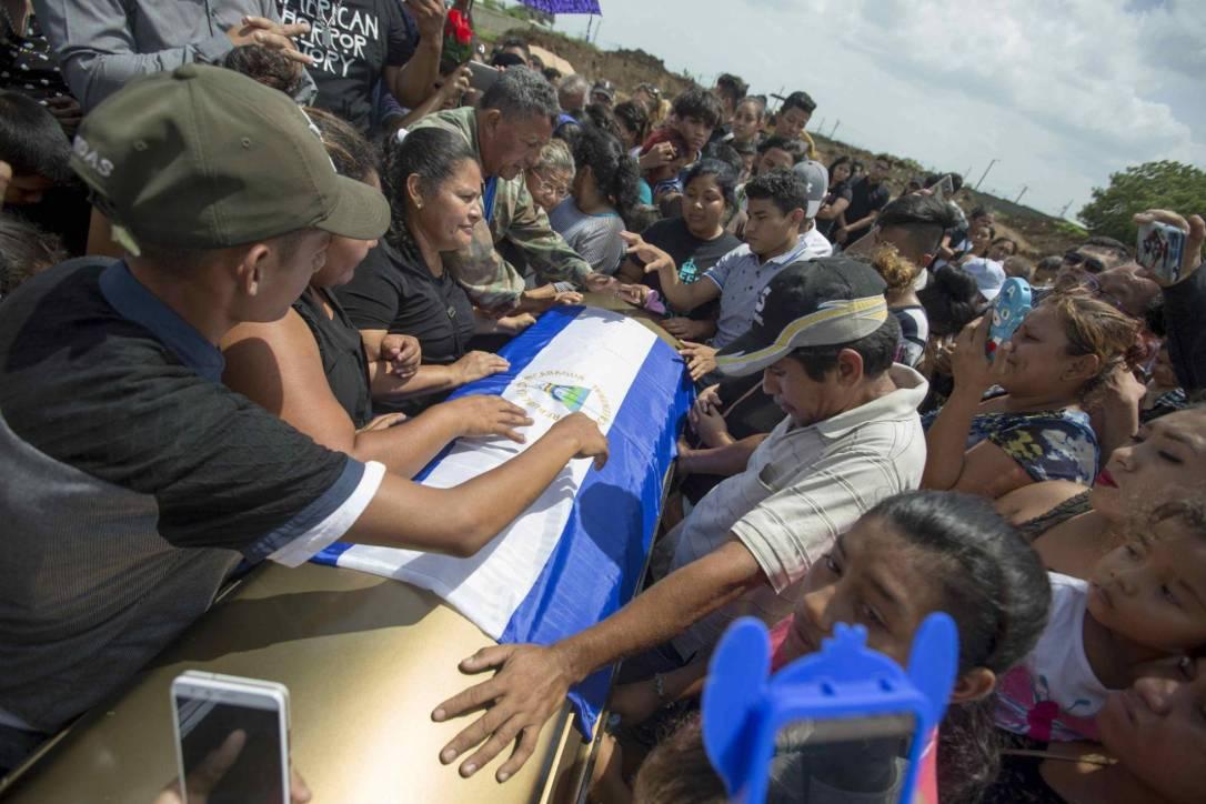Entierro Nicaragua 2
