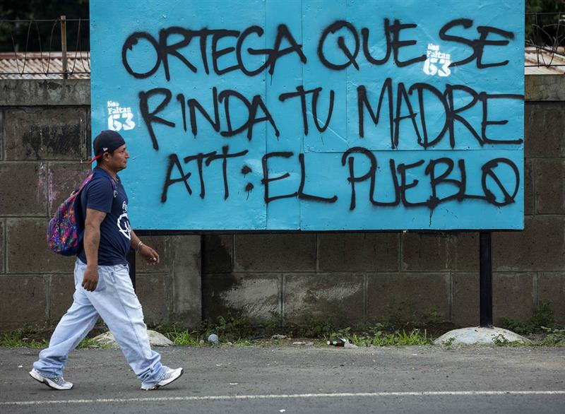 Huelga Nicaragua 1