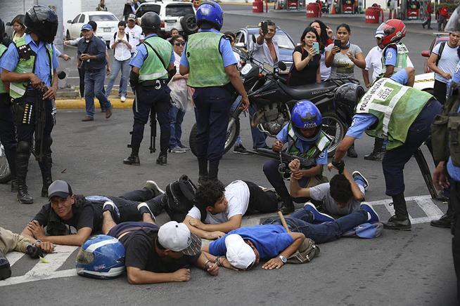 Represion policial 1